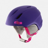 Giro Launch Kids helmet - Mat Purple Clouds
