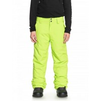 Quiksilver Estate Youth Pant (Lime Green)