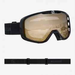 Salomon Aksium OTG Goggle (Black-20) Tonic Orange