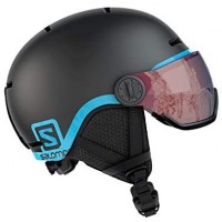 Salomon Grom Visor Junior Helmet (Black)