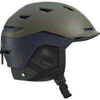 Salomon Sight Helmet (Olive Night- Dress Blue) -19