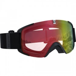 Salomon XView Photo Goggle (Black-20) AW Red